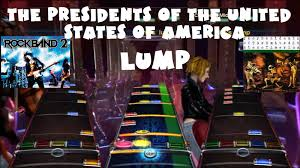 the presidents of the united states of america lump rock band