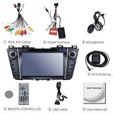 16g quad core 2009 2012 mazda 5 android 7 1 1 gps navigation