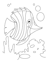fish flutter water coloring pages download free fish flutter