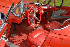 vintage corvette for sale for sale 1961 corvette convertible red w white coves