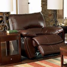 coaster 600283 clifford dark brown double reclining chair