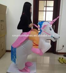 Halloween Unicorn Kids Inflatable Halloween Unicorn Costume Suit Inflatable
