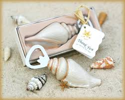 wedding favors bottle opener sea shell bottle opener wedding favors