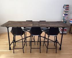 restoration hardware flatiron table restoration hardware flatiron counter height table in polk gulch