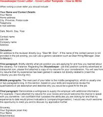Sample Housekeeper Resume by Sample Housekeeping Cover Letter Housekeeping Resumes For