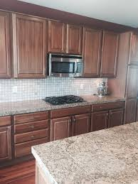 should i paint my cherry wood cabinets white