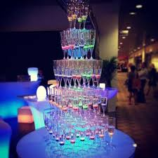 There Are Five Lights 150ml Inductive Led Champagne Wine Glass U2013 Lu Qing Wen