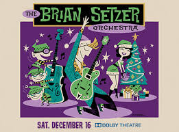 the brian setzer orchestra dolby theatre