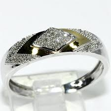 His And Hers Wedding Ring Sets by His Her Wedding Rings Set Trio Men Women 10k White Yellow Gold Two