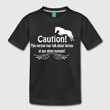 pferde spr che lustiger pferde spruch t shirt spreadshirt
