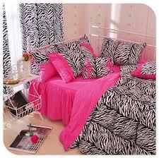 Zebra Print Single Duvet Set Zebra Bedding Sets Promotion Shop For Promotional Zebra Bedding