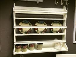 Shabby Chic Plate Rack by Wooden Wall Plate Rack Cream Shabby Chic Wooden Plate Rack Wall