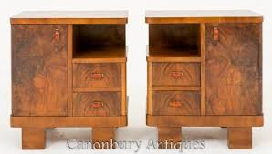 antique nightstands and bedside tables art deco night stands bedside tables vintage furniture