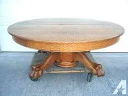 antique round coffee table round oak coffee table vanessadore com