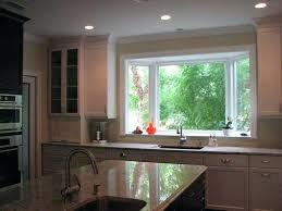 Large Kitchen Window Treatment Ideas Standard Kitchen Sink Window Size Kitchen Sink Window Treatment