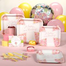 baby shower supplies online baby shower plates and napkins for a girl criolla brithday