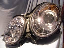 chrome benz sw light headlight mercedes benz e class w211 02 06 chrome hid