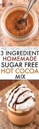 healthy homemade sugar free chocolate mix