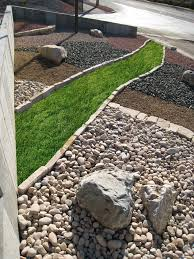 Backyard Landscaping Ideas With Rocks by Lowes Landscape Rock Cebuflight Com