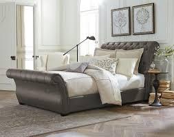 New Bed Design New King Size Sleigh Bed Frame Modern King Beds Design