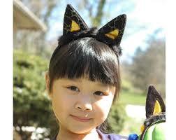 Halloween Costumes Black Cat Black Silk Cat Ears Cat Ears Cat Headband Ariana Grande
