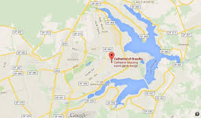 map of brasilia where is cathedral on map of brasilia world easy guides