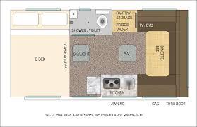 100 campervan floor plans ideas that can make pickup campe