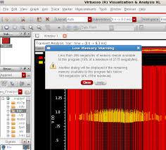 virtuoso layout design basics cadence virtuoso memory limitation issue custom ic design