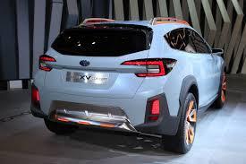 subaru concept truck subaru xv concept previews next crosstrek