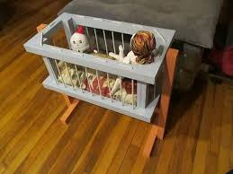 old fashioned crib for dolls u0026 stuffies 13 steps with pictures