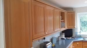 Limed Oak Kitchen Cabinet Doors Painting Oak Kitchen Doors Furniture Painterhand Painted