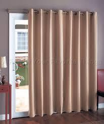 Glass Door Curtains Panel Track Blinds Patio Door Window Treatments Shutters Sliding