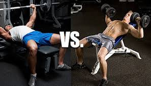 Bench Pressing With Dumbbells Barbell Press Vs Dumbbell Press For Chest Which Is Better