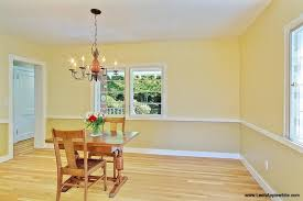 split your colors with custom dining room two tone paint ideas