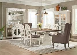9 Pc Dining Room Set by Hancock Park 9 Piece Dining Package With Arm Chairs The Brick