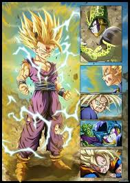 moments dbz super saiyan 2 gohan born