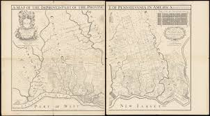Map Of Pennsylvania by Fac Simile Of Holmes U0027 Map Of The Province Of Pennsylvania Norman