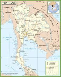 Map Com Thailand Maps Maps Of Thailand
