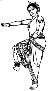 great website with tons of indian folk dance coloring pages