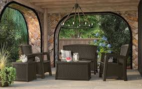 suncast elements outdoor furniture collection patio set u2013 java