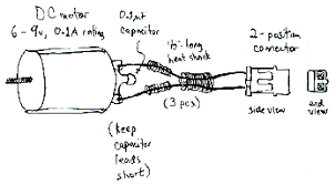 tutorial for wiring a dc motor by handyboard
