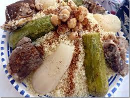 cuisine alg駻ienne traditionnelle couscous sauce blanche plat traditionnel algérien