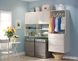 Laundry Room Storage Shelves by Laundry Room Storage System Lux Garage U0026 Closet