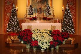 Altar Decorations Main Altar Christmas Decorations Picture Of National Shrine Of