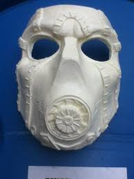 Borderlands 2 Halloween Costumes Borderlands 2 Psycho Bandit Mask Blank Cosplay Borderlands
