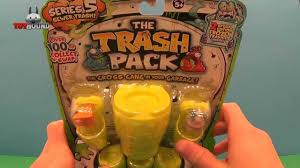 trash pack series 5 sewer trash 12 pack review opening