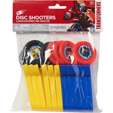transformers rescue bots party supplies transformers party accessories disc shooters 8 count party