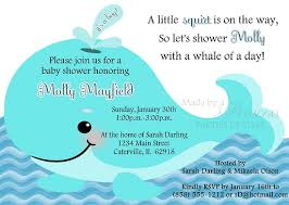 whale baby shower invitations whale of a time baby shower invitation pink