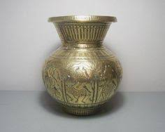 Brass Vase Value Antique Indian Brass Lota Antique Lota Vase Indian Lota Vase