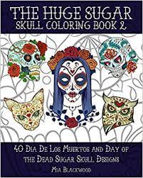 amazon com 3 the sugar skull coloring book 2 40 dia de los